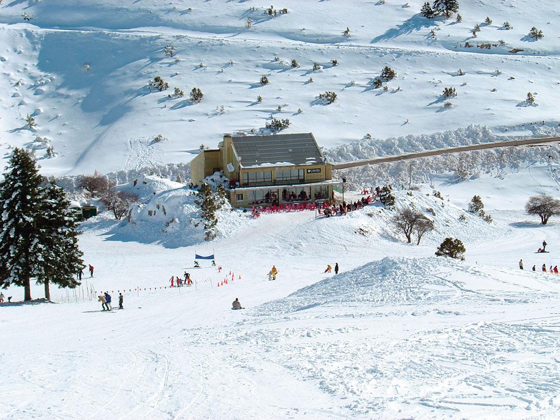 Χιονοδρομικό Κέντρο Μαινάλου, Σκι Μαίναλο