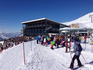 Χιονοδρομικό Κέντρο Παρνασσου 28.1.2017