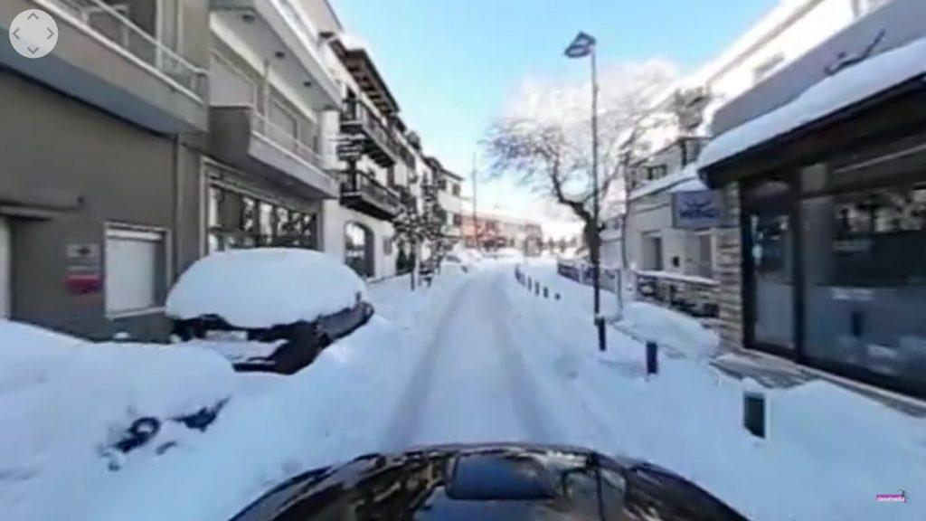 Χιονισμένο Καρπενήσι