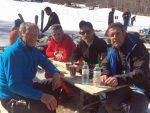 Ο Νίκος Βέρτης στο Χιονοδρομικό Κέντρο 3-5 Πηγάδια