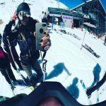 Γωγώ Μαστροκώστα: Σαββατοκύριακο στην Αράχωβα για σκι!
