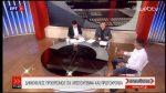 Ο Θ. Παναγιωτόπουλος (Δ/ντής Χ/Κ Καϊμακτσαλαν) & ο Ν. Χούντρης στην εκπομπή Απευθείας