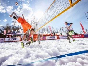 Snow Volley Χιονοδρομικο Κέντρο Καλαβρύτων 2018