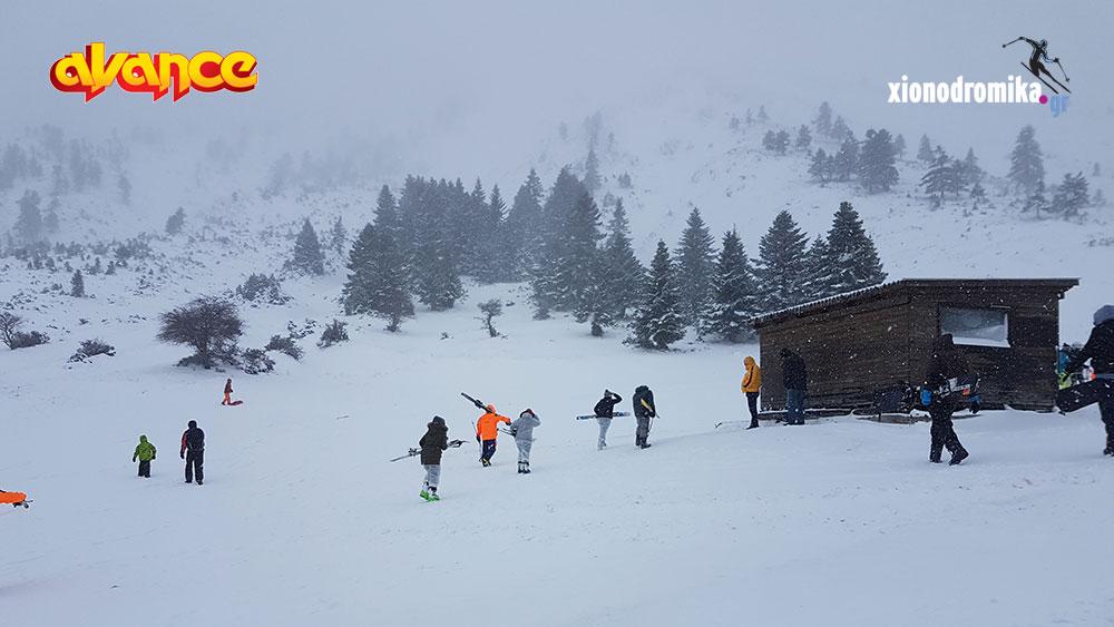 Χιονοδρομικο Κέντρο Καλαβρύτων Ενημέρωση Avance