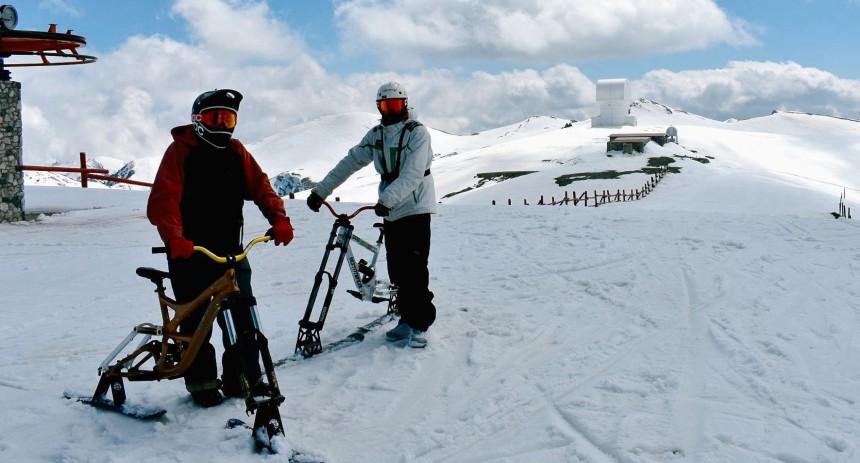 Snow bike Χιονοποδηλατο