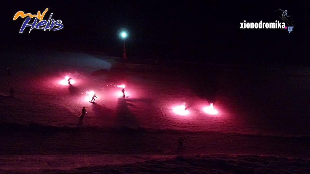 Νυχτερινό Σκι - Χιονοδρομικό Κέντρο Καλαβρύτων - 27.1.2018