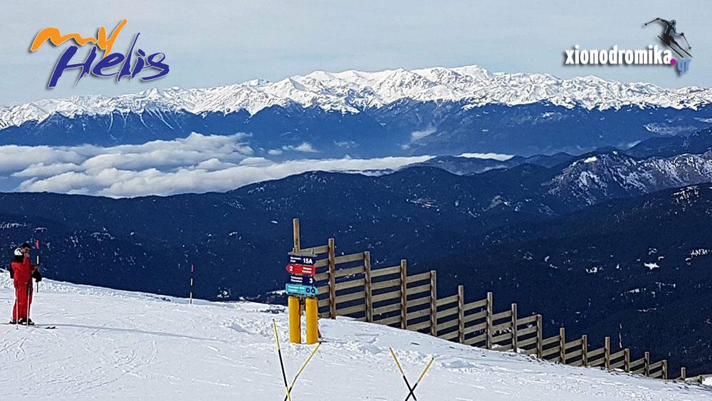 Χιονοδρομικό Κέντρο Παρνασσού MyHelis DJI Drones - 7.1.2018