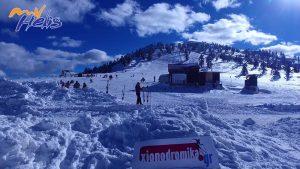 Χιονοδρομικό Κέντρο Βασιλίτσας MyHelis DJI drones Ενημέρωση