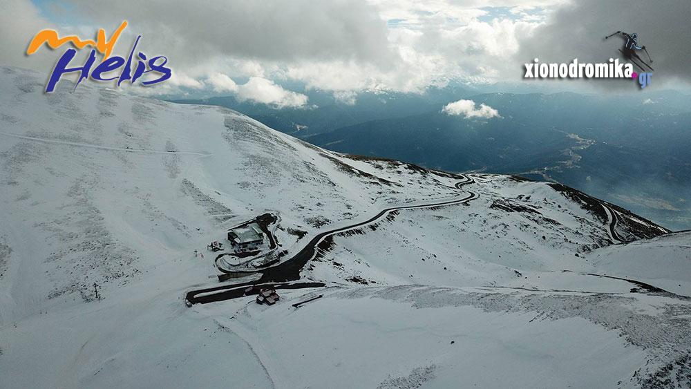 Χιονοδρομικό Κέντρο Βελουχιου Καρπενησι - MyHelis DJI drones - Ενημέρωση - Velouhi Ski Center - Karpenisi