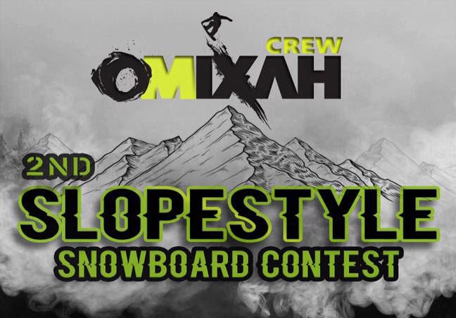 2ο SlopeStyle Contest - Χιονοδρομικό Κέντρο Βιτσίου 17-18 Φεβ. 2018