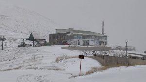 Πρώτα χιόνια στο Χιονοδρομικό Κέντρο Βελουχίου 16.11.2018