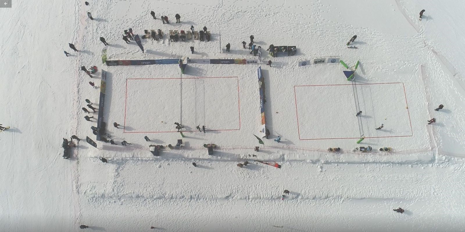 2ου Πανελληνίου Πρωταθλήματος Snow Volley 2019