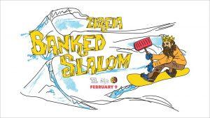 Αγώνας κατάβασης snowboard Banked Slalom στο Χιονοδρομικό Κέντρο Ζήρειας by TTAG