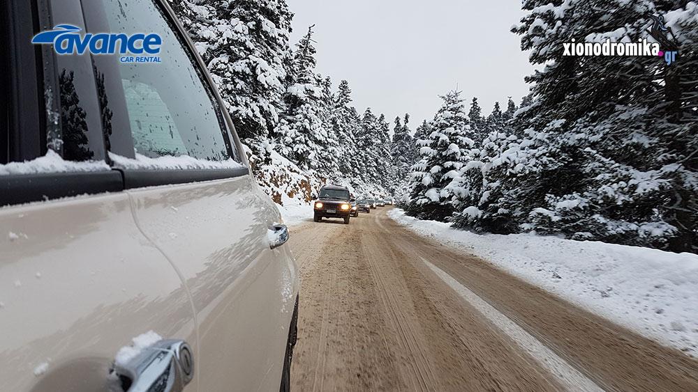 Χιονοδρομικό Κέντρο Παρνασσού Avance