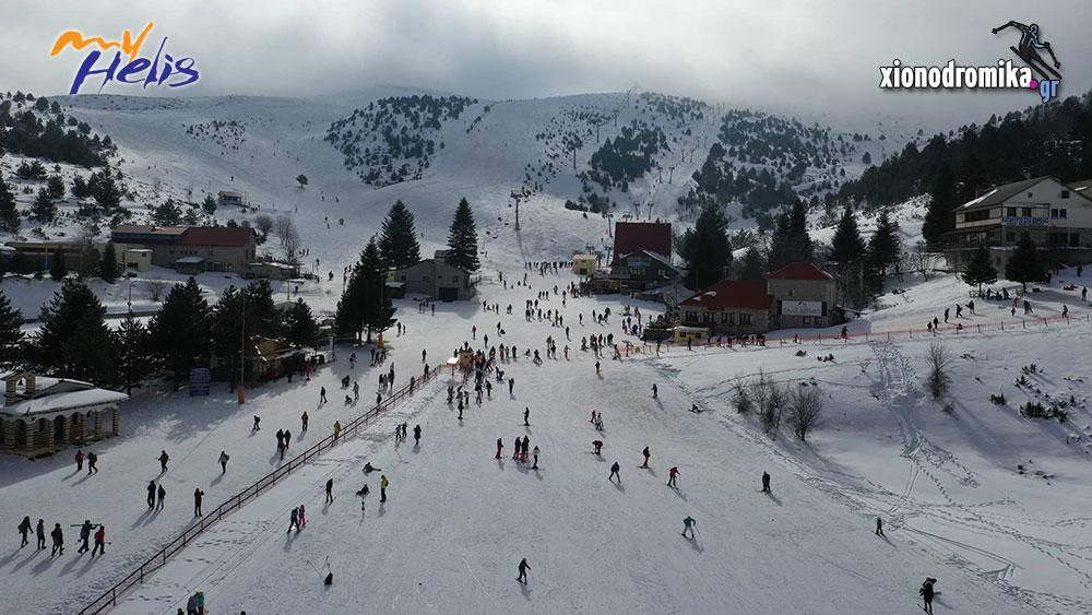 Χιονοδρομικό Κέντρο Σελίου MyHelis DJI Drones