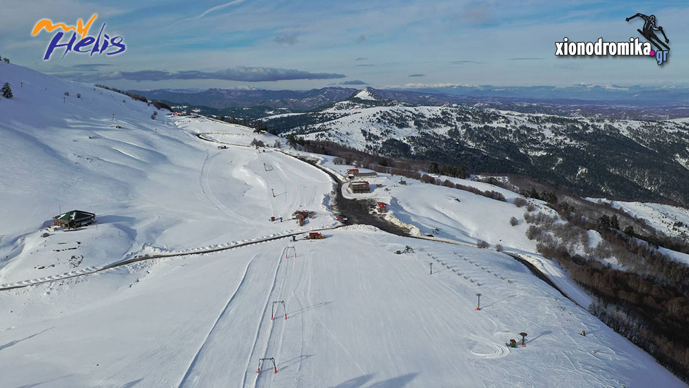 Χιονοδρομικό Κέντρο Βασιλίτσας MyHelis DJI drones