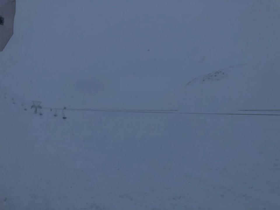 Χιονοδρομικό Κέντρο Καλαβρύτων Χιονοστιβάδα 12.1.2019