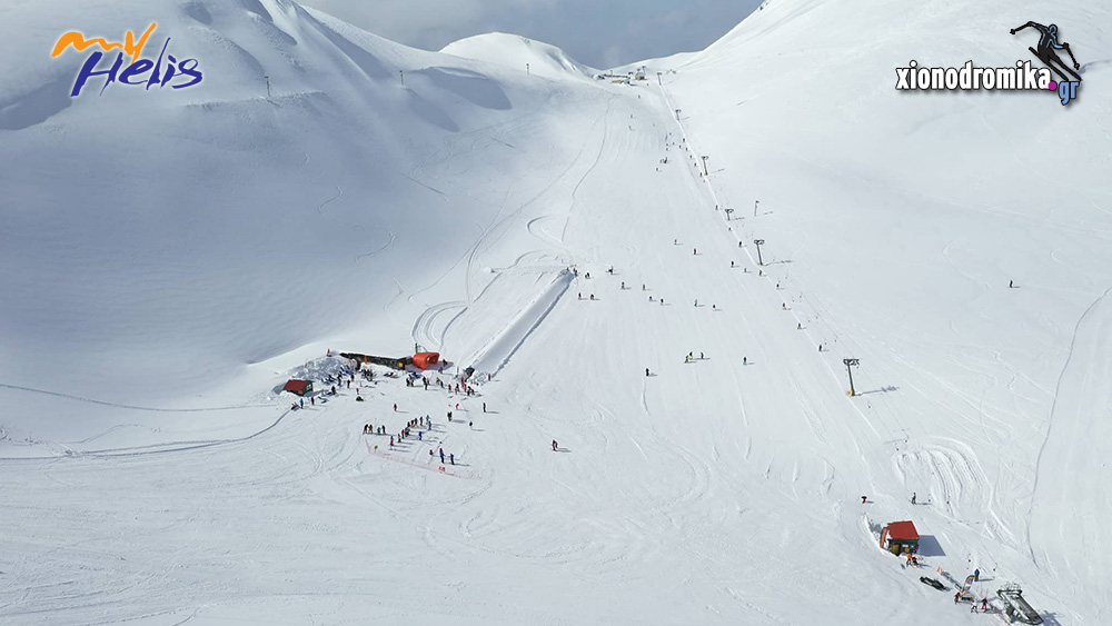 Χιονοδρομικό Κέντρο Βελουχίου MyHelis DJI Drones