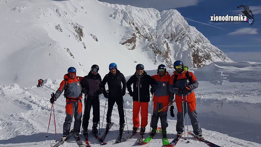 Χιονοδρομικό Κέντρο Βελουχίου Καρπενησίου 3.2.2019 - Κυριακος Μητσοτάκης