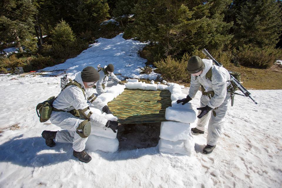 Χειμερινή Εκπαίδευση της Σχολής Μονίμων Υπαξιωματικών